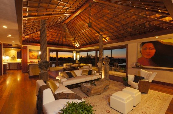 ... 10,056 Square Feet Perfectly Designed To Capture The Essence Of Hawaiian  Living. The Property Is Adorned With Balinese Antiques, Custom Made  Furniture, ...