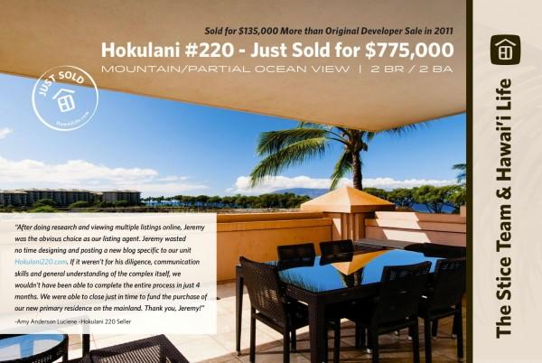 Honua Kai 220 Sold Postcard