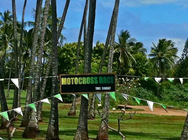 Kauai motocross racing at the wailua motocross track for Kauai life real estate