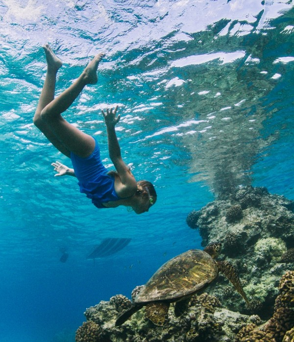 Snorkel Kua Bay