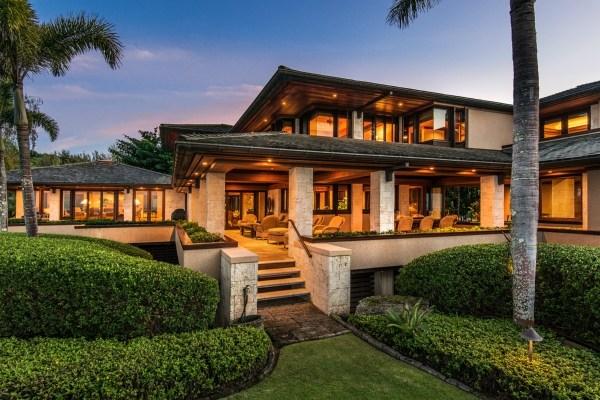 Hawaiian Home Design Ideas: Kaua'i Beachfront Estate With Over 400 Feet Of White Sand