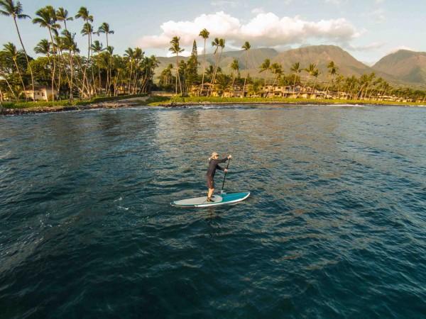 Puamana paddle board