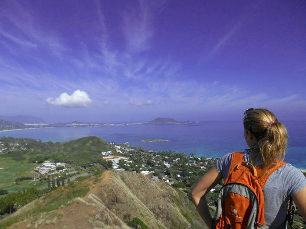 Hiking Lanikai Pillbox Trail