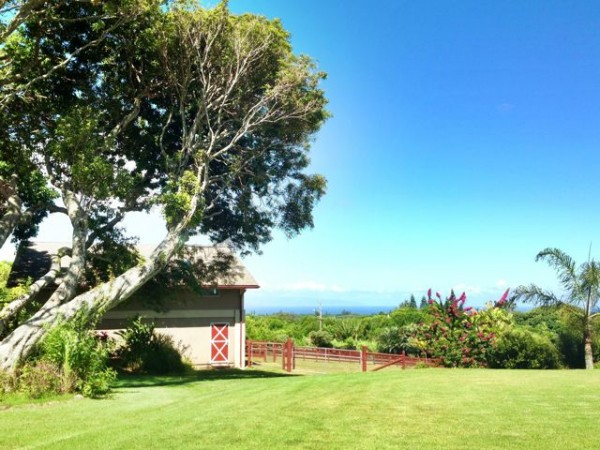 Haiku Maui homes for sale with acreage and horse barns