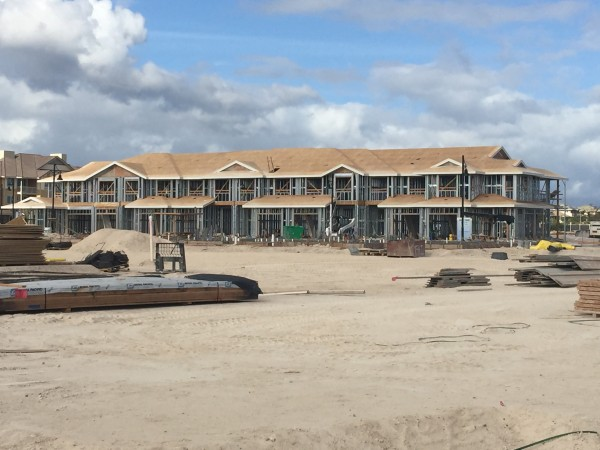 Townhomes under construction