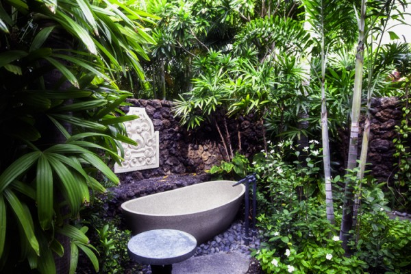 Outdoor Showers in Hawaii A Garden Oasis Hawaii Real Estate
