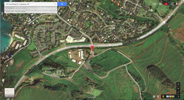 The Sales Website's Address for Wailele Ridge reads 47 Hui C Road