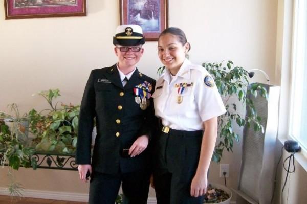 Nieces, US Army, JROTC