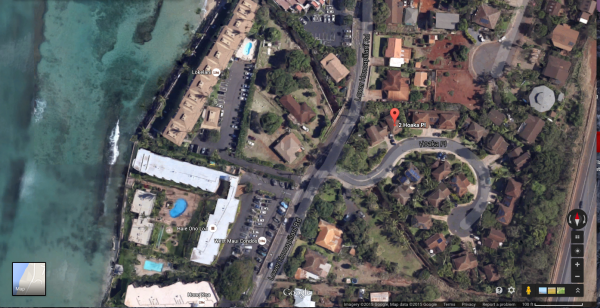 Located just off L. Honoapiilani Rd in Honokoawai. Very close to the Beach.