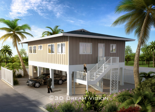 New houses in honolulu starting in the 500 000 39 s kauhale for How much to build a house in hawaii