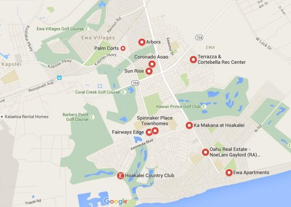 Arbors Google Map