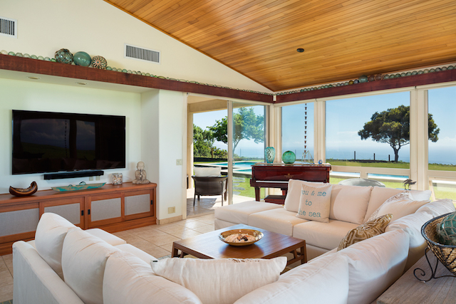 There are three bedrooms  2 King beds and 1 Queen  all with ensuite  bathrooms that each have jacuzzi tubs  The office offers extra sleeping  space if  Hale Hokuloa in Kohala Ranch is Now Available Through Hawaii Life  . Pacific Outdoor Living Hawaii. Home Design Ideas