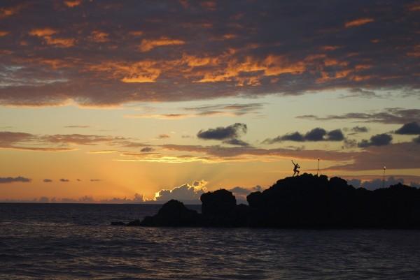 Kaanapali Black Rock Sunset
