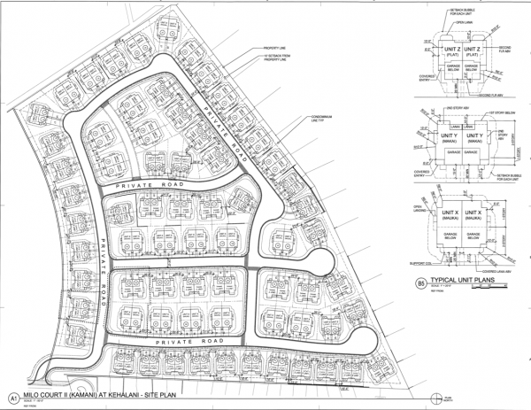 Proposed Kamani Subdivision Layout
