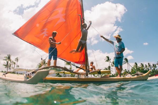M. Field sailing