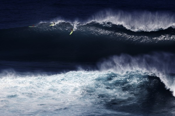Peahi (Jaws) less than a mile from the house