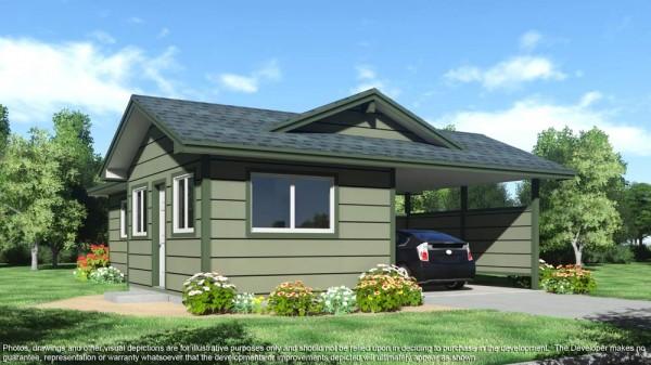Kua Aina Mauka cottage exterior