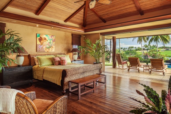 Resort style luxury home with unmatched views at hualalai for Package homes hawaii